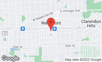 Map of 20 South Grant Street WESTMONT, IL 60559