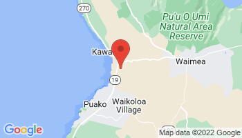 Map of Mauna Kea
