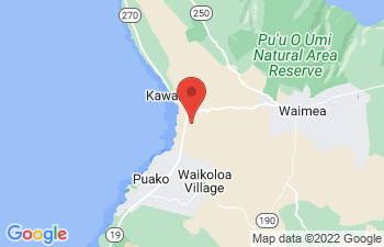 Map of Mauna Kea