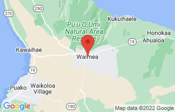 Map of Waimea - Kamuela