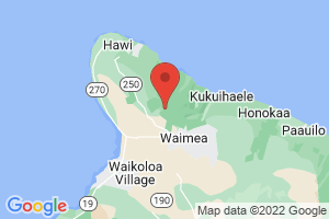 Map of Kohala