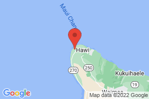 Map of Kohala Coast