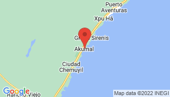 Map of Akumal