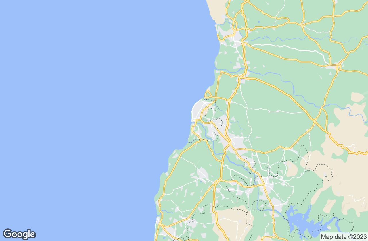 Google Map of Daman