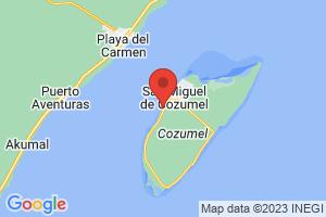 Map of La yesCeiba Beach
