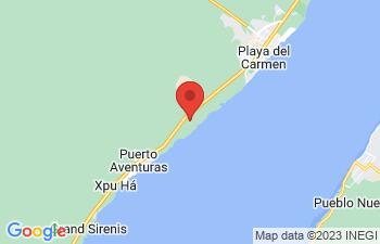 Map of Mayan Riviera