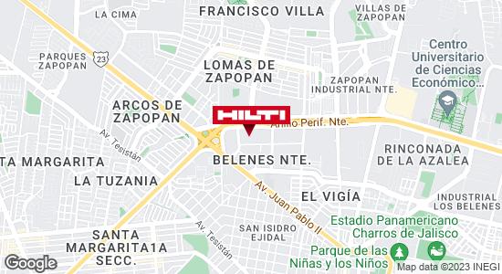 Obtener indicaciones para Ocurre Paqex Guadalajara (Zapopan)