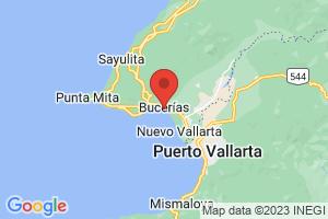 Map of Bucerias