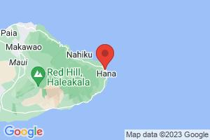 Map of Haleakala - Oheo Gulch