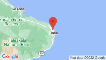 Map of Haleakala - Oheo Gulch
