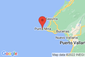 Map of Punta Mita