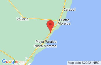 Map of Playa Paraiso