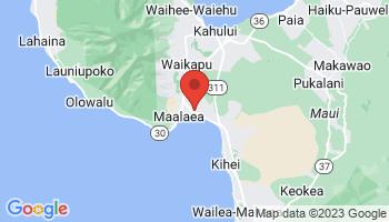 Map of Maalaea Bay