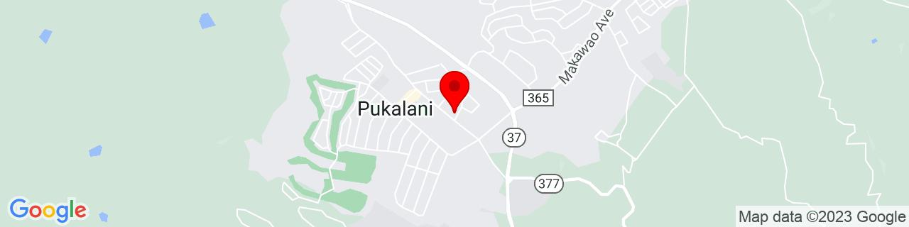 Google Map of 20.8366667, -156.3366667