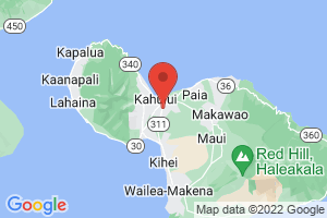 Map of South Maui