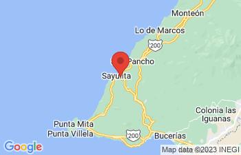 Map of Sayulita