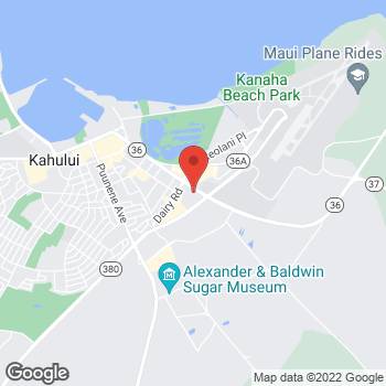 Map of BAYADA Maui Behavioral Health at 427 Ala Makani Street, Kahului, HI 96732