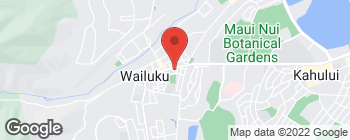 Map of 1885 Main St in Wailuku