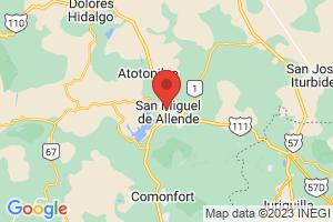 Map of San Miguel De Allende
