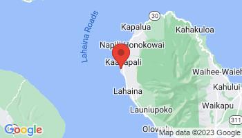 Map of Kaanapali