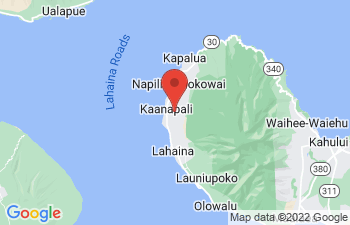 Map of Kaanapali