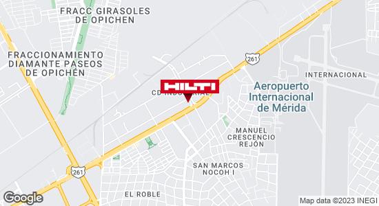 Obtener indicaciones para Ocurre Paqex Mérida (Chetumal)
