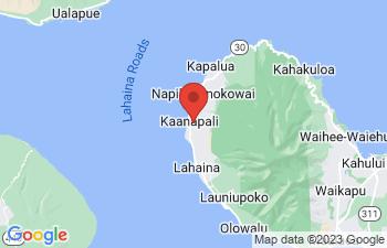 Map of Lahaina
