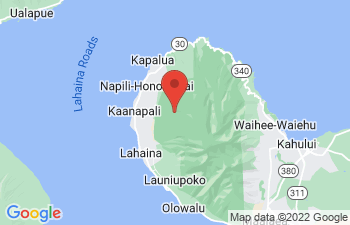 Map of Honokowai