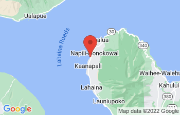 Map of Lahaina