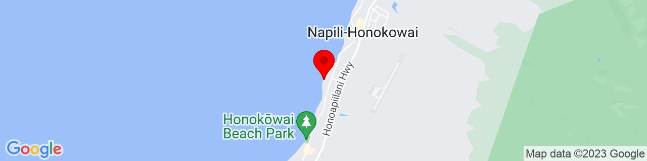 Google Map of 20.963902777777776, -156.683675