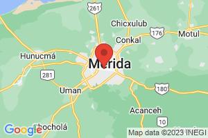 Map of Merida