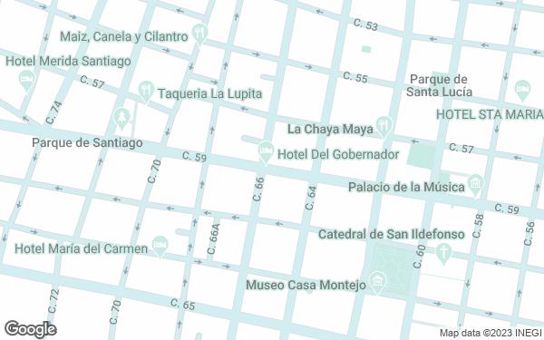 Static Map - Hotel Del Gobernador