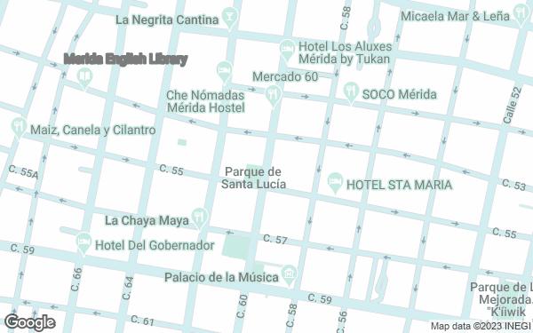 Static Map - Casa Lucia Hotel