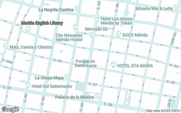 Static Map - Hotel Maison del Embajador