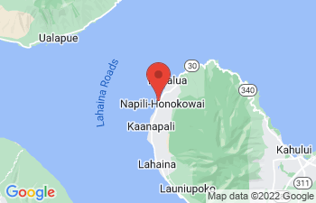 Map of Kahana