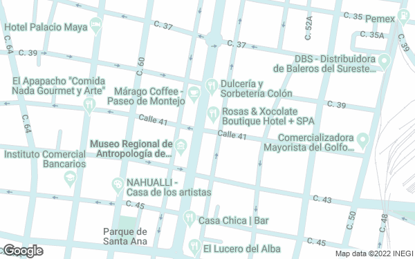 Static Map - Rosas & Xocolate Boutique Hotel