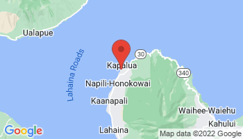 Map of Napili