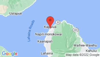 Map of Napili