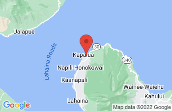 Map of Kapalua