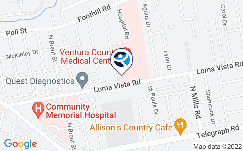 Ventura County Medical Center - Inpatient Psychiatric Hospital Location and Directions