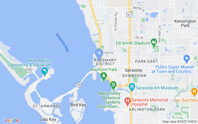 200 Quay Commons #ph1903 Sarasota Florida 34236 locatior map