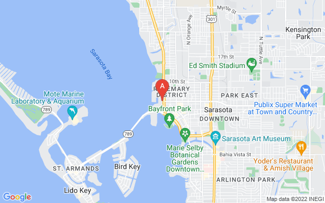 200 Quay Commons #p-302 Sarasota Florida 34236 locatior map