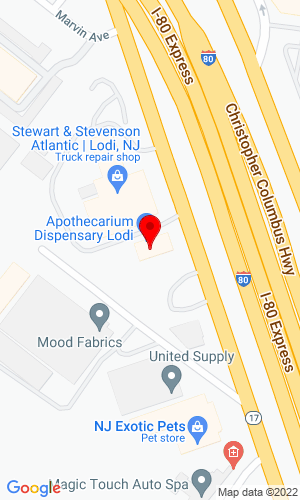 Google Map of Construction & Industrial Equipment Corp. 200 Route 17, Lodi, NJ, 07644