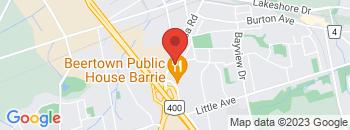 Google Map of 200+Essa+Road%2CBarrie%2COntario+L4N+3L1