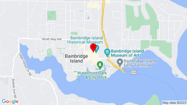 Google Map of 200 Madison Avenue North, Bainbridge Island, WA 98110