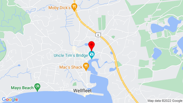 Google Map of 200 Main Street, Wellfleet, MA