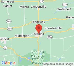 Job Map - 200 OHIO STREET Medina, New York 14103 US