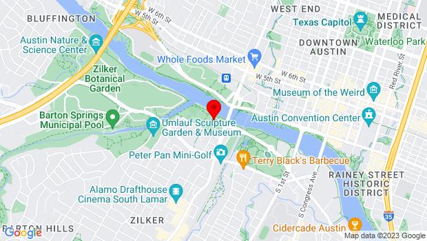 Google Map of 200 S. Lamar, Austin, TX 78704