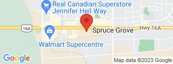Google Map of 200+St.+Matthews+Ave%2CSpruce+Grove%2CAlberta+T7X+3A6