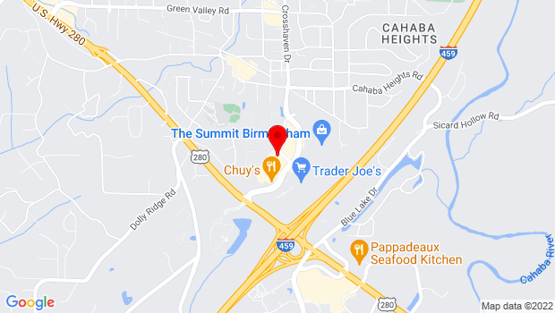 Google Map of 200 Summit Boulevard, Suite 200, Birmingham, AL 35243